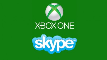 Xbox One logo with Microsoft's Skype logo