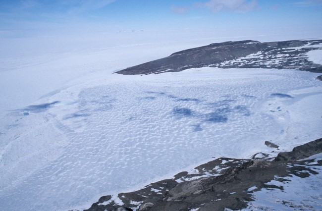 Antarctica Invaded by Extraterrestrials