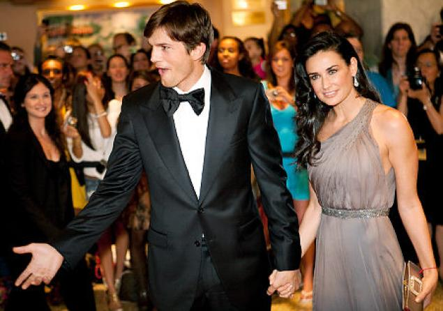 Kutcher, Demi Moore, divorce
