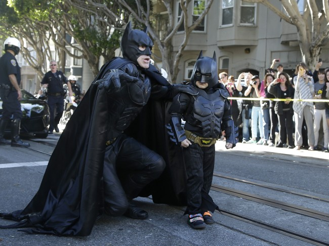 Bat Kid Saves the Day in 'Gotham' San Francisco