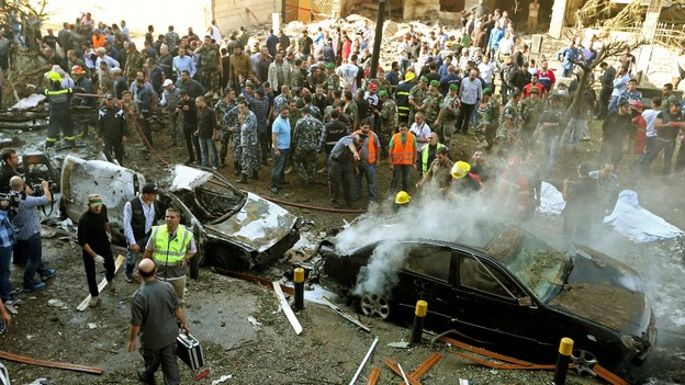 Beirut suicide bombing