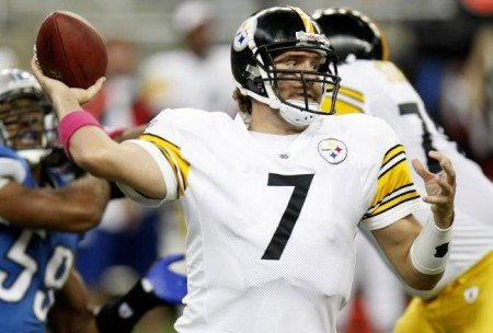 Ben Roethlisberger and the Steelers will find a way to win at home against the Lions.