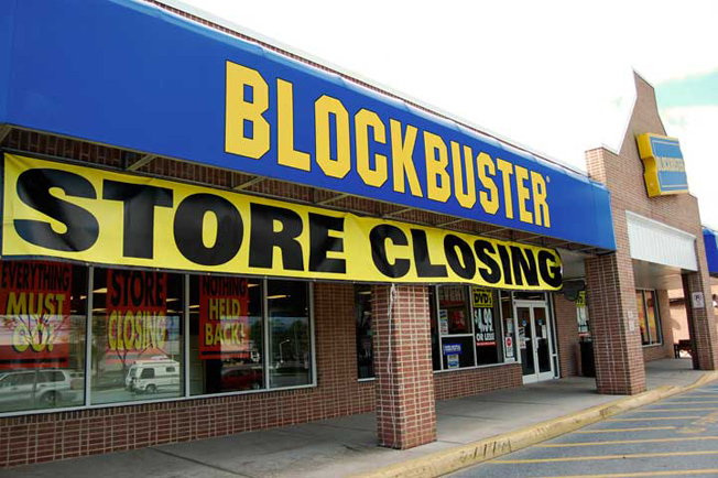 Blockbuster Couldn't Keep up with Netflix