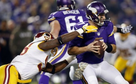 When Christian Ponder was injured against the Redskins on TNF, it was Matt Cassel and not Josh Freeman that the Vikings turned to.