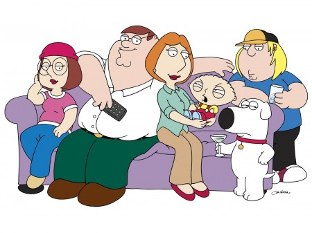 Predicted Programming? Family Guy Mocked Autonomous Zones 20 Years Ago Explained Family-guy-family-and-pet-Brian-450x337