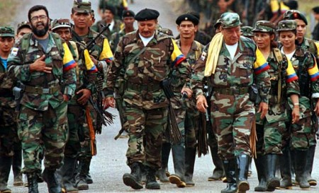 The FARC is a marxist-rebel group in Colombia