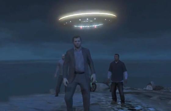 GTA V UFOs
