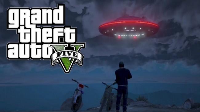 GTA V Aliens and UFOs