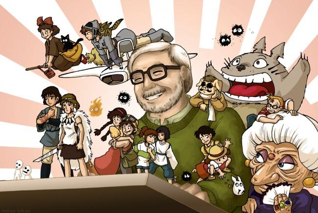 Hayao Miyazaki great anime film writer
