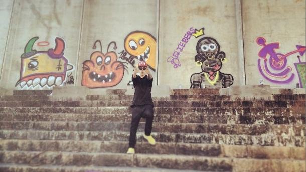 Justin Bieber, graffiti, australia