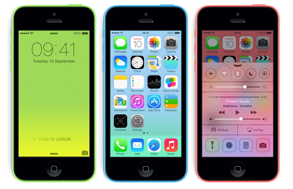 Comparing the differences between the iPhone 5S and iPhone 5C