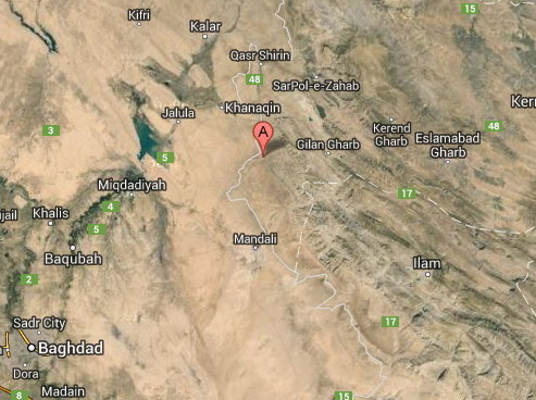 Iraq & Iran Border Shakes from 5.3-Magnitude Earthquake