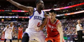 Jeremy Lin's huge night wasn't enough to beat the 76ers.