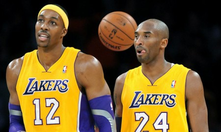 Kobe Bryant spoke nicely of former teammate Dwight Howard before the Lakers took on the Rockets for the first time since the split.