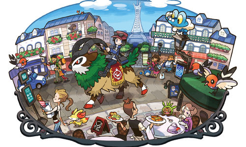 Pokémon X and Y:  Update Released to Fix Errors in Lumiose City and GTS