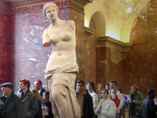 art in museum Louvre