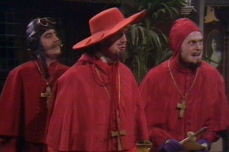 Monty Python: Nobody Expects the Spanish Inquisition or a Reunion