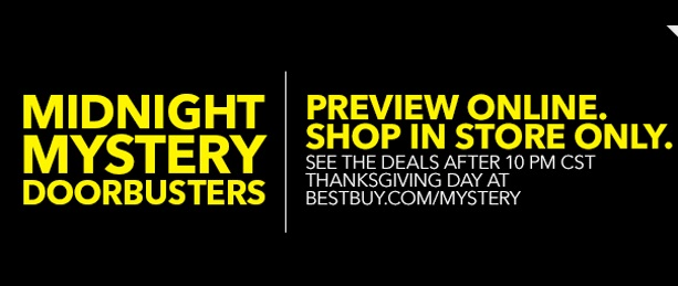 Best Buy Black Friday Specials
