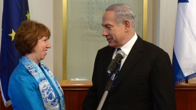 Hannukah miracle as Ashton and Netanyahu reconcile