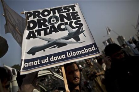 Pakistan Protests U.S. Drone Strikes