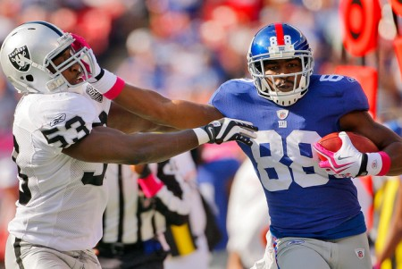 The Giants are the pick against the Raiders in week ten of the NFL.