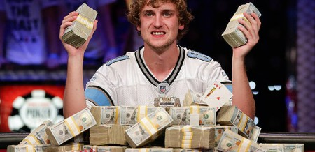 23-year-old Ryan Riess of Michigan won the $8.4 million prize and the WSOP Main Event bracelet on Tuesday night.