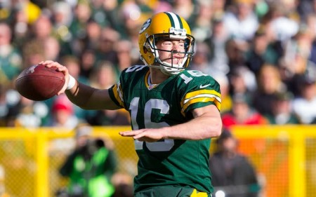The Green Bay Packers will bounce back into the playoff mix when Scott Tolzien leads them to his first career victory on Sunday.