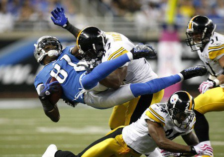 The Pittsburgh Steelers are going to upset the Detroit Lions on Sunday.
