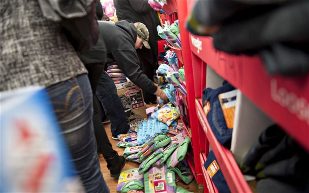 Violence on Black Friday a Result of Economic Turmoil?