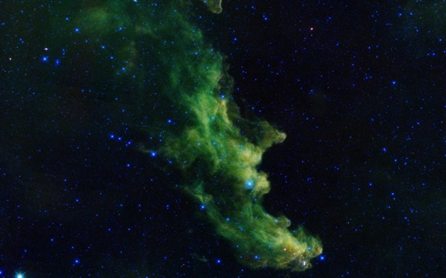 NASA Detects Witch Head  nebula