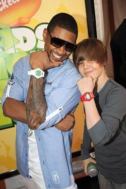 Usher is Justin Bieber's mentor