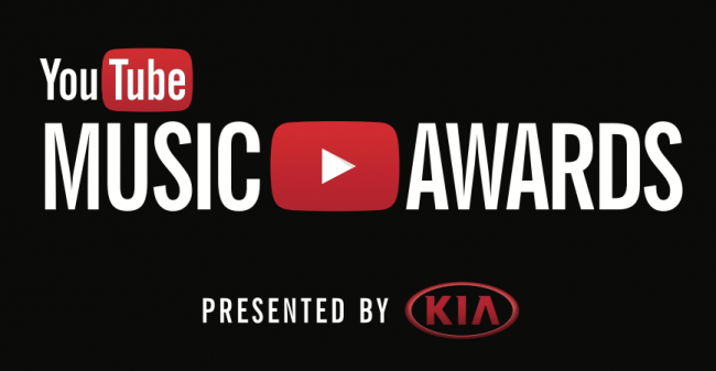 YouTube Music Awards Webcast November 3rd