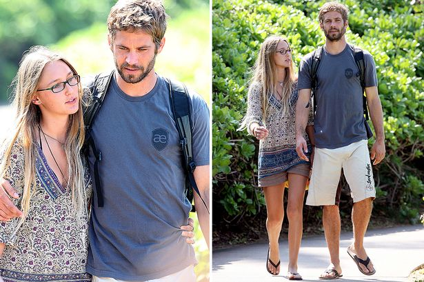 Paul Walker's Girlfriend Visits His Home