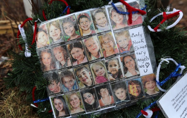 newtown, shooting guns, anniversary, nra, bullets