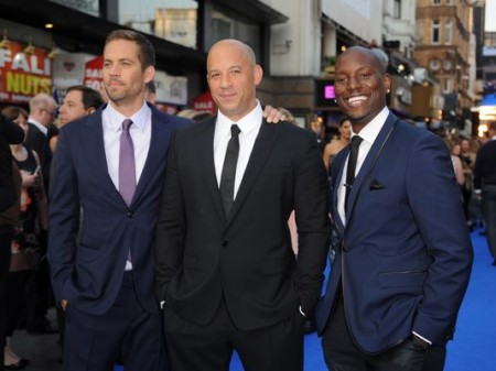 Co-stars Vin and Tyrese have expressed their disbelief and grief