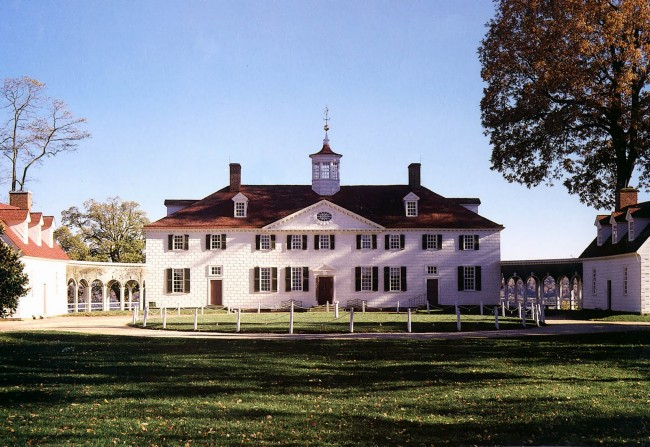 George Washington's Mount Vernon at Christmas