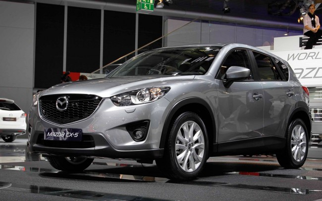 Mazda Upgrades CX-5