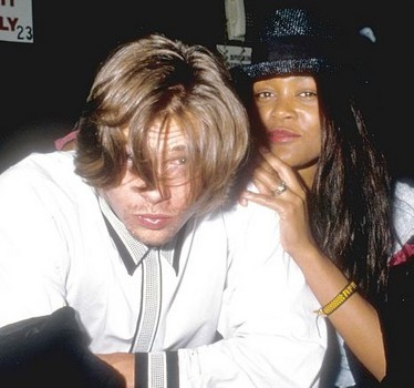 Pitt dated Robin Givens previously