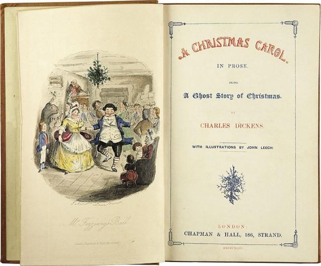 Charles Dickens story of Scrooge