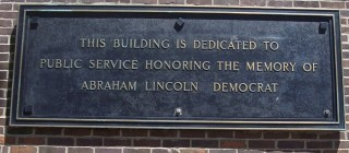 Northern Illinois University plaque