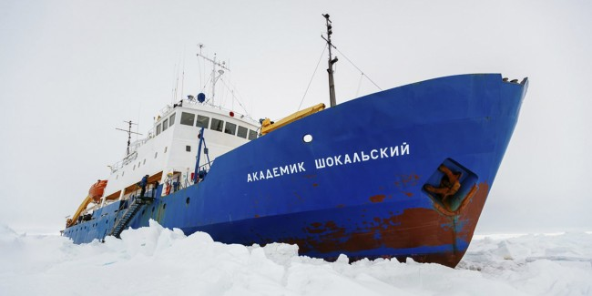 Akademik Shokalskiy Remains Trapped in Ice After a Third Rescue Attempt