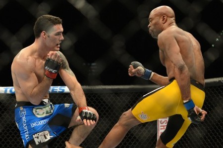 Anderson Silva Horrific Leg Break in Martial Arts Bout