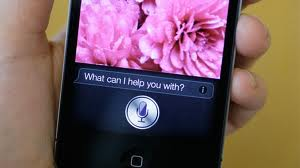 Apple Inc.'s Siri on an iPhone