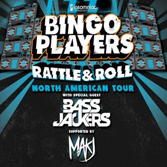 Bingo Players Rattle and Roll North American tour kicked off