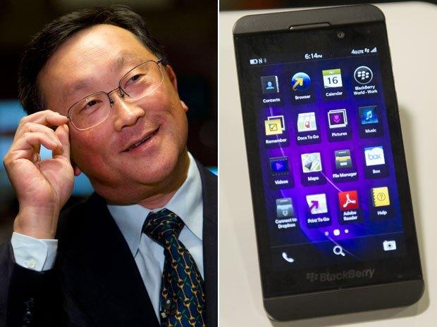 Blackberry Financial Reports $4.4 Billion Loss