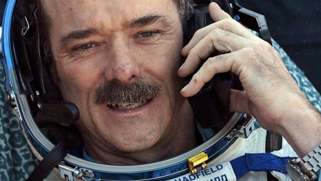 Chris Hadfield Talks