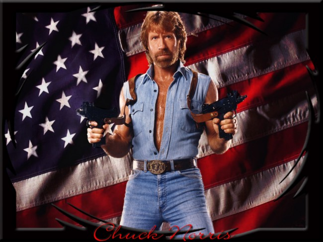 Chuck Norris is louder than you