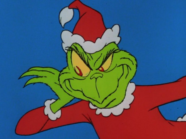 Christmas without the grinch