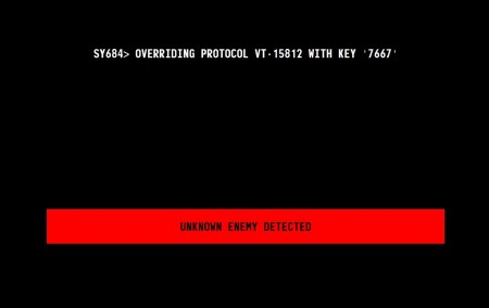 Enemy unknown message from Survivor 2299