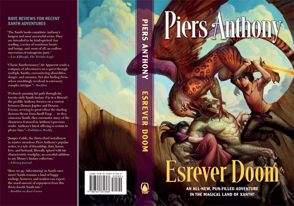 Esrever Doom by Piers Anthony